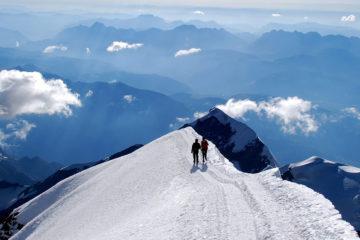 Sommet du Mont-Blanc - Compagnie des guides de Saint-Gervais