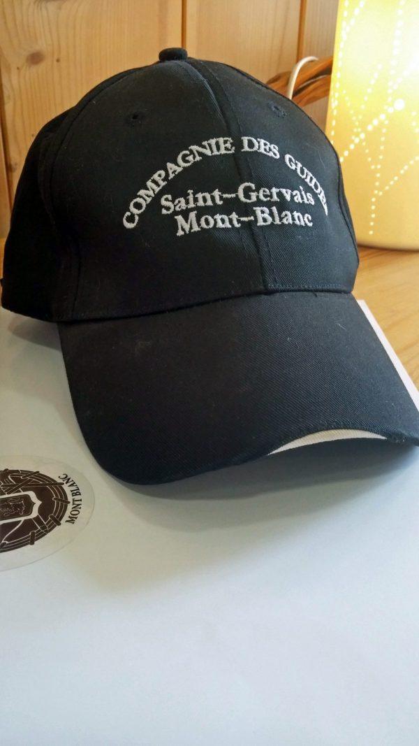 casquette - Compagnie des guides de Saint-Gervais-Mont-Blanc