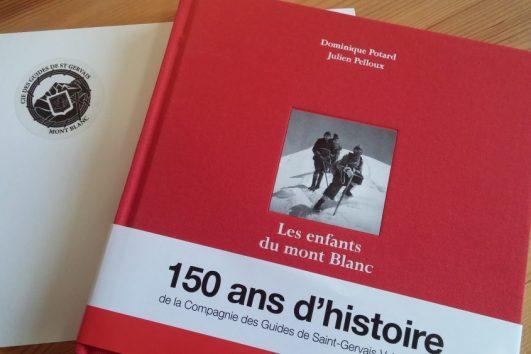 Livre des éditions Guerin sur l'histoire de la Compagnie des guides de saint-gervais
