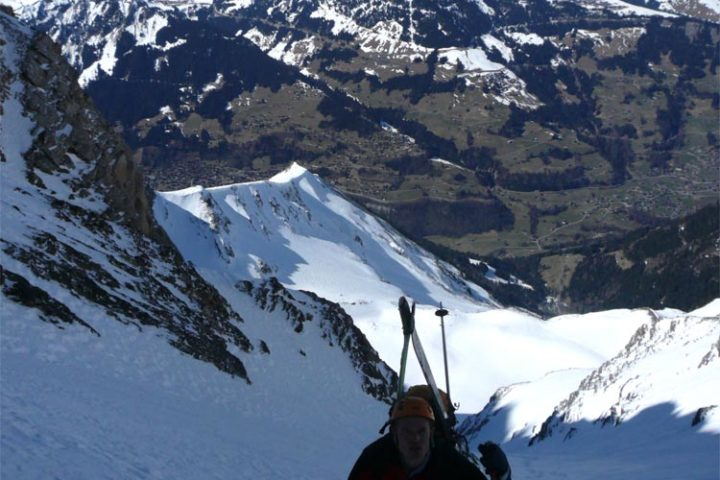 le couloir domine le val d'illiez