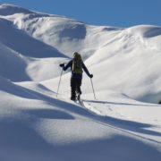 ski de randonnée facile