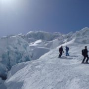 ski glacier chamonix Mont-Blanc