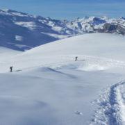 Vue panormaique sur le Mont-Blanc