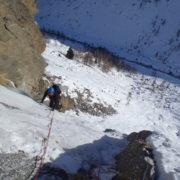 cascade de glace Cogne Isabella