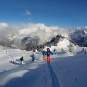 randonnée à ski guidée