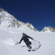randonnée en ski avec un guide