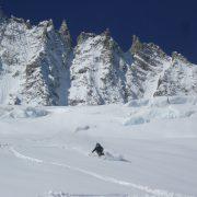 Refuge d'Argentiere ski de rando