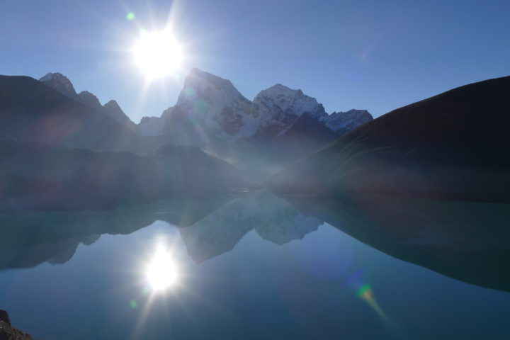 lumière des hautes vallée du khumbu