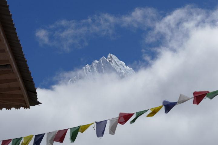 drapeaux de prières boudhiste