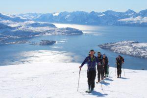 parfois on part de l'altitude zéro, ici les fjords en Norvège