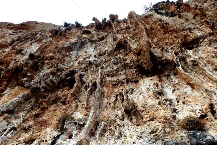 Léonidio cave of panagia