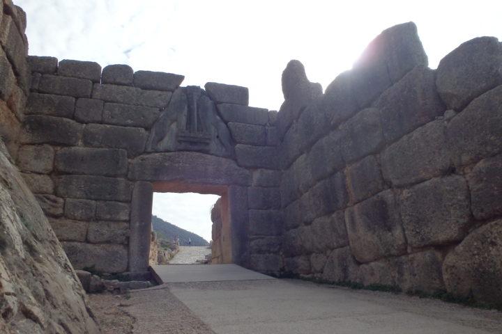 Porte aux Lions, Mycènes