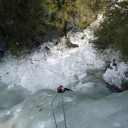 stage cascade aux contamines