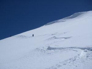Poudreuse au Mont-Blanc
