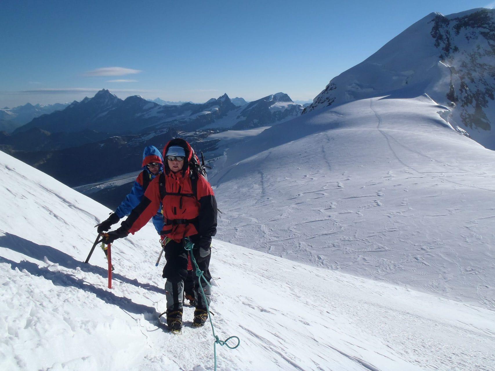 Alpinisme Italie Mont-Rose