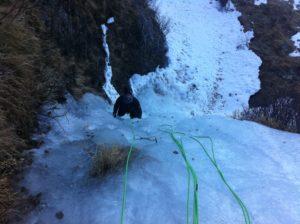 cascades de glace au plat de l'Are