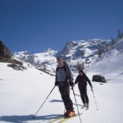 décontraction Raid à ski au Mont-Rose