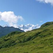 Les balcons du Mont Blanc avec les guides de Saint-Gervais / Les Contamines