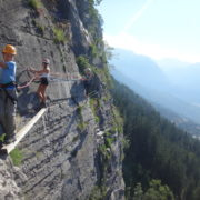 via ferrata de curralaz