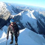 Dernière pentes avant le sommet