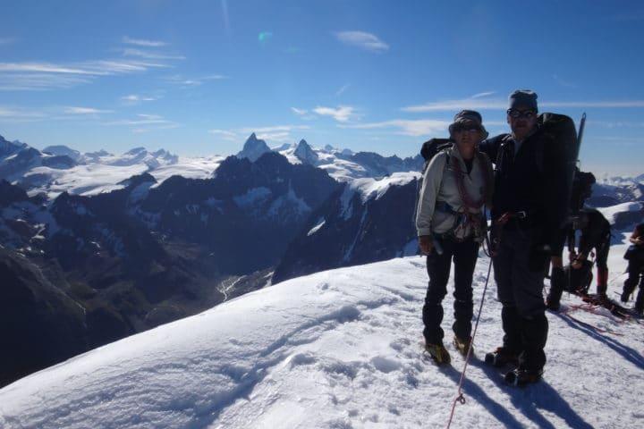 sommet du Pigne d'Arolla 3790m
