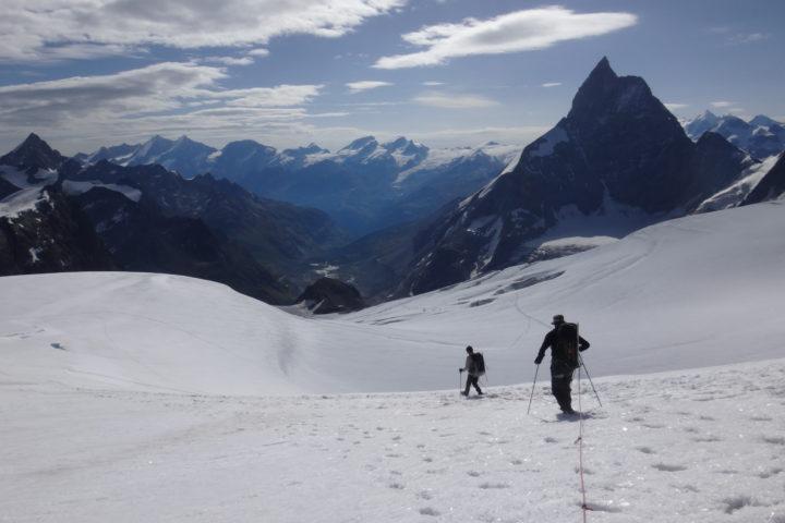 haute route Chamonix Zermatt raid glaciaire