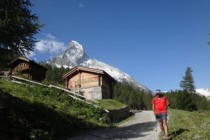 arrivée à Zermatt