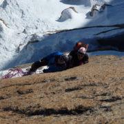 escalade hivernal massif du Mont-Blanc
