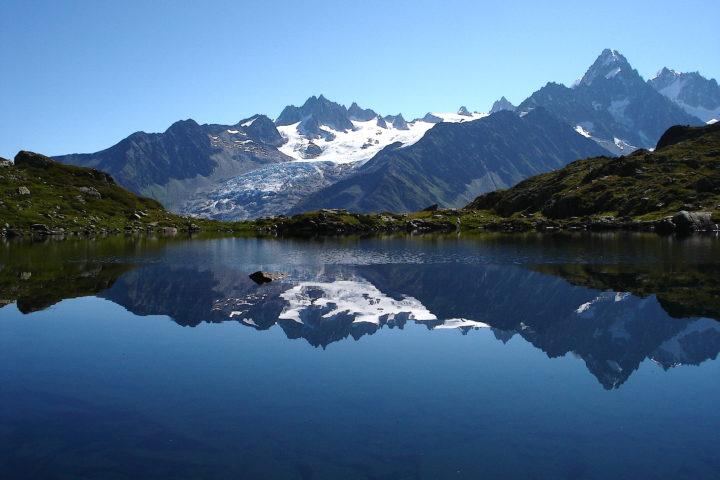 lacs de montagne tour du mont blanc
