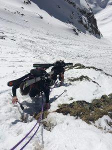 "en mode ""alpiniste"""