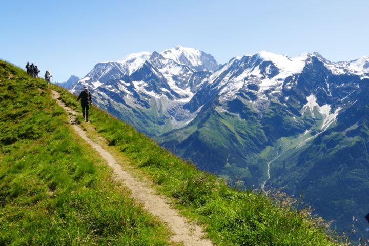 panorama tour du mont-blanc