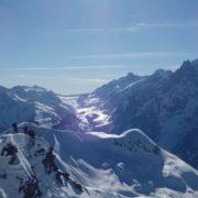Ski massif du Mont Blanc randonnée