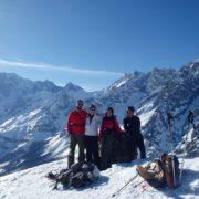 Ski de randonnée refuge guide