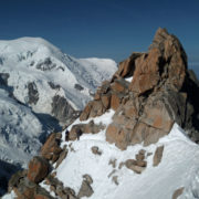 Cosmiques ridge with the guides of Saint-Gervais / Les Contamines