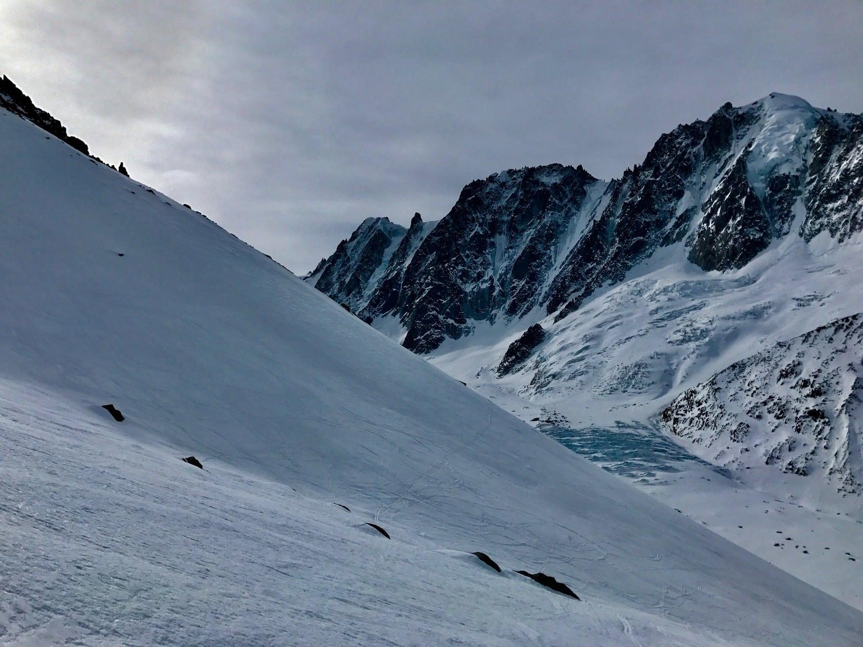 ski de randonnée massif du mont-blanc