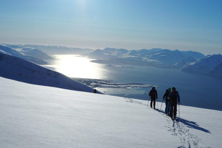 neige, fjord et soleil un cocktail explosif