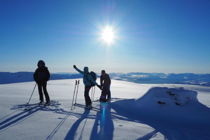 sommet du Svart-fjellet