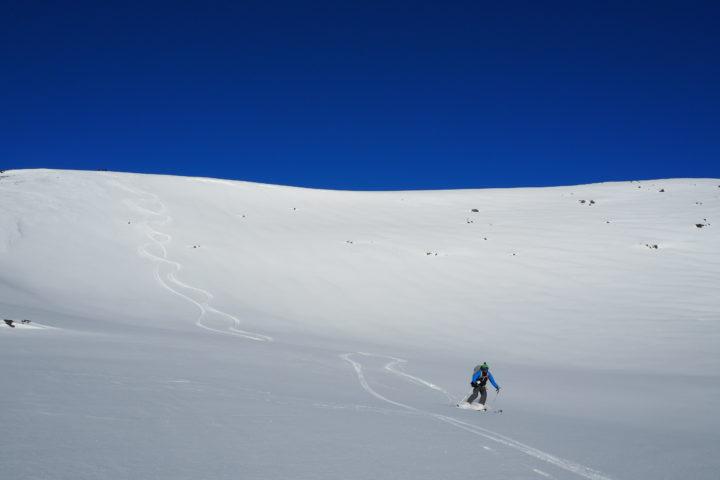 grand ski au Svart-fjellet