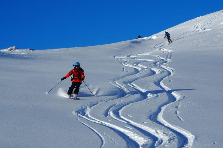 ski plaisir dans le vallon de Gammelhjemsdalen