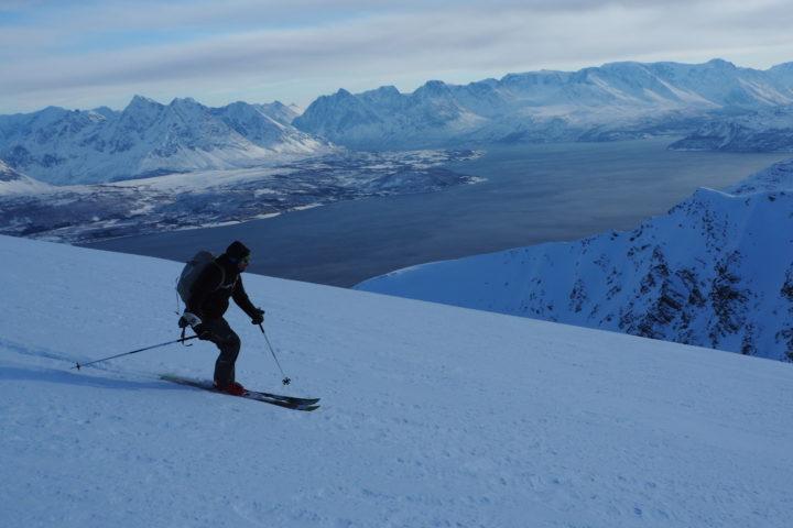 ski sur fond de Lyngen, toujours merveilleux