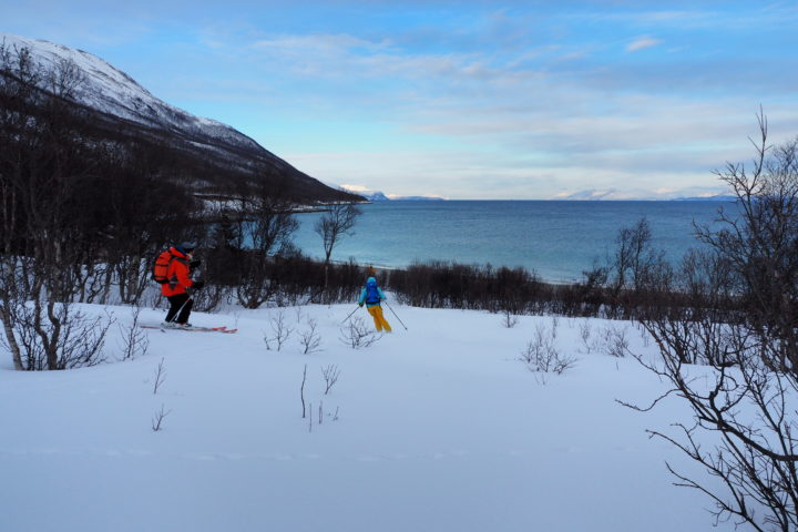 arrivée dans la baie de Nakkevika