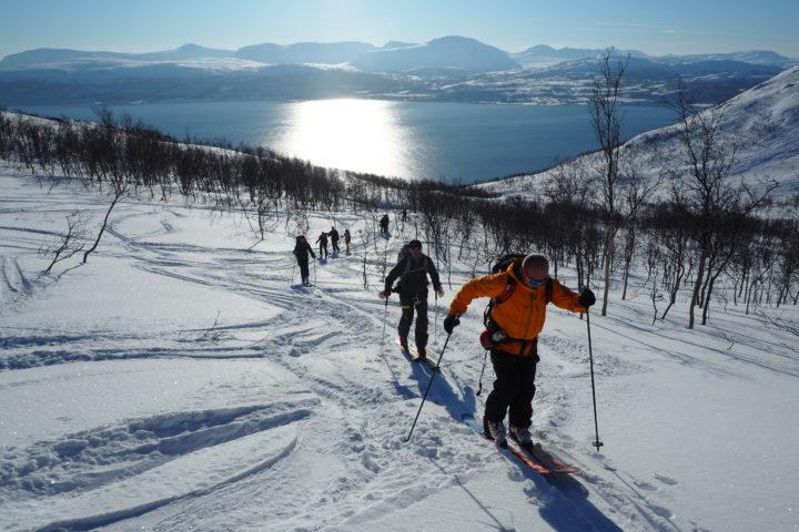 départ pour le Nordfjellet