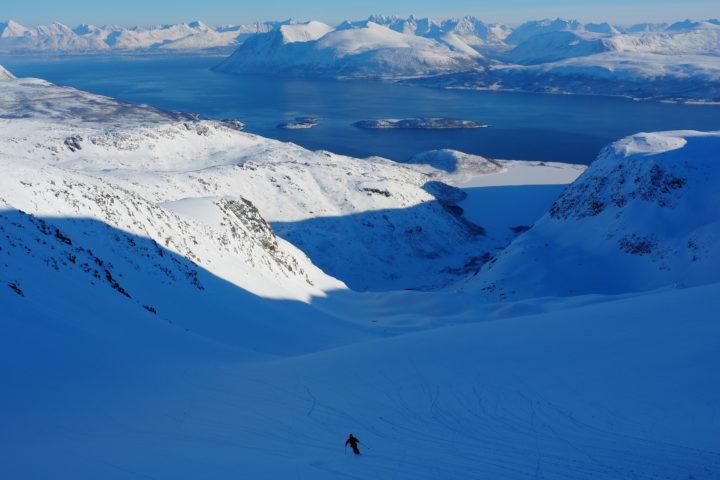 grand ski au Nordfjellet