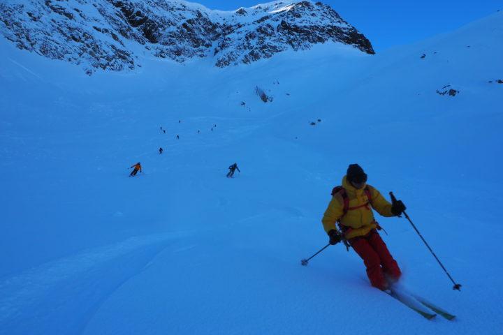 ski facile en Norvège...