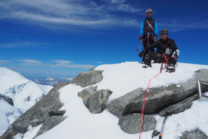 Sommet du Mont-Blanc du Tacul 4248m