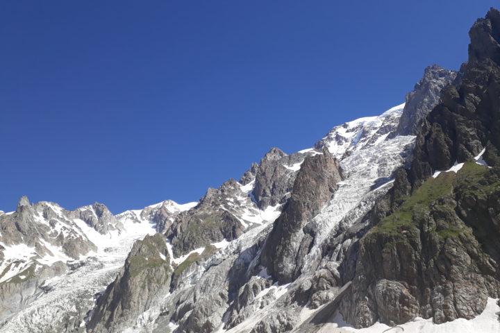 le versant Miage du Mont Blanc