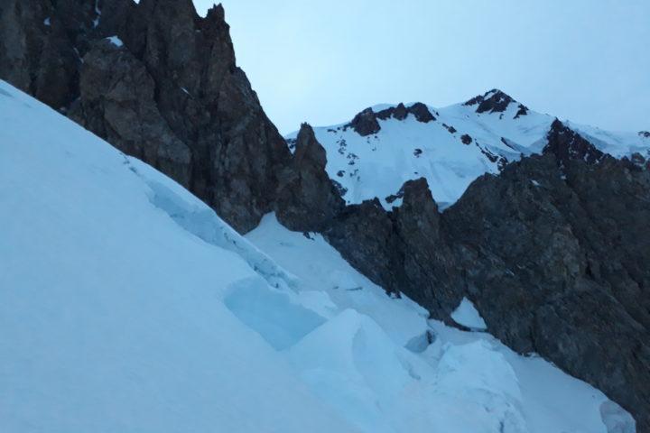 Seracs et Mont Blanc