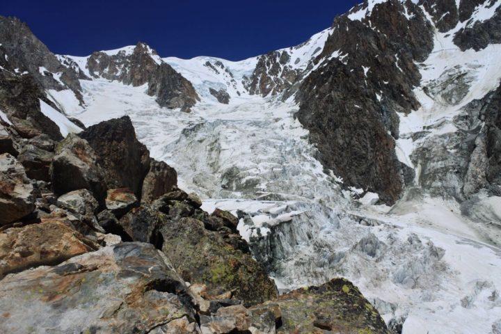 Le glacier du Dôme