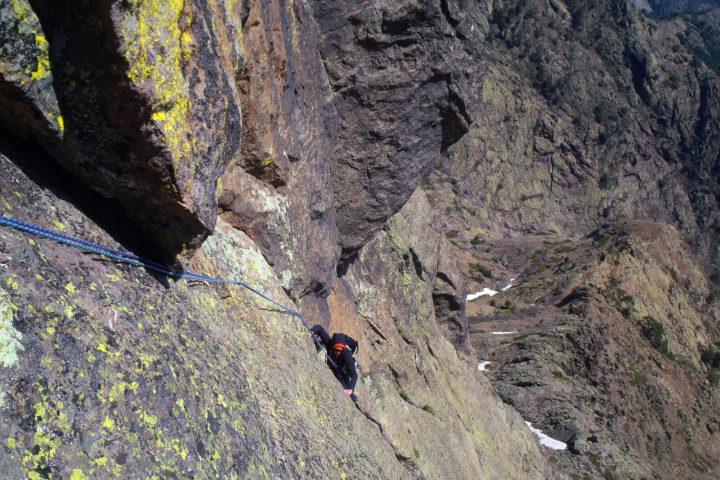 colonne di a Marcia, 5+ alpin