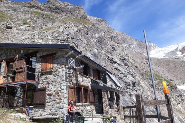 Le refuge Aosta